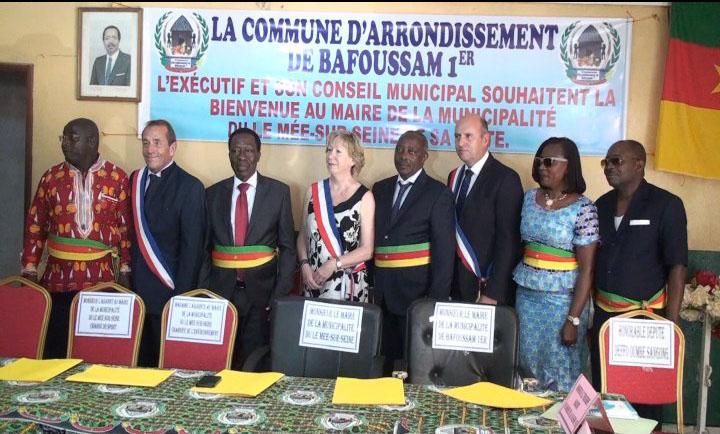 COOPÉRATION DÉCENTRALISÉE ENTRE LA COMMUNE D'ARRONDISSEMENT DE BAFOUSSAM Ier ET LA COMMUNE DE MEE-SUR-SEINE EN FRANCE.