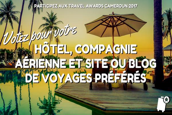 Tourisme: Les nominés de Cameroon Travel Awards.