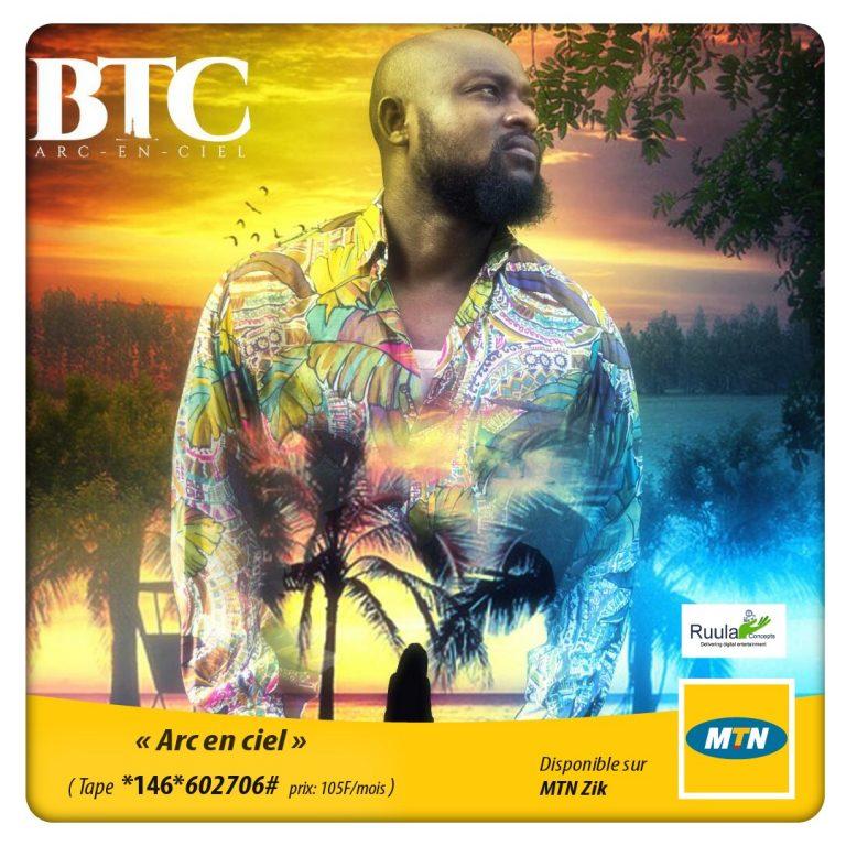 Musique : Le nouveau single de B.T.C «Arc-en-ciel» est disponible!