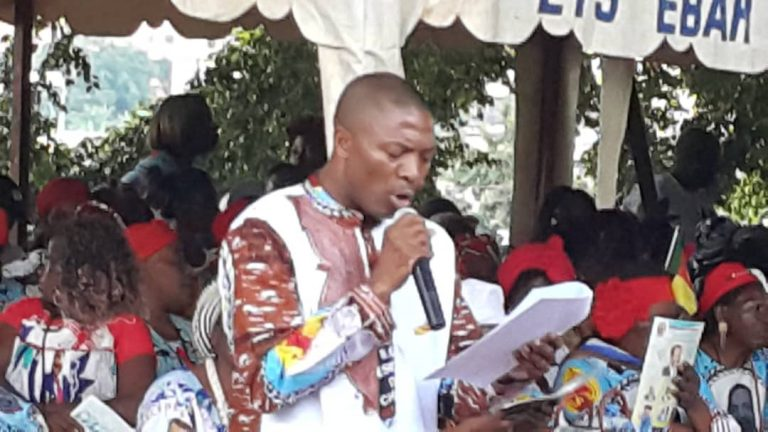 PUBLI : An 37 du Renouveau dans le Mfoundi V : Augustin Bala mobilise les militants derrière Paul Biya.