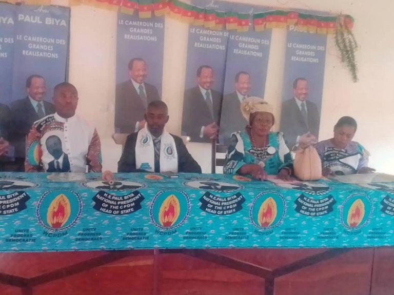 Législatives et municipales de 2020 : La section Rdpc du Mfoundi V fourbit ses armes pour une victoire éclatante du parti.