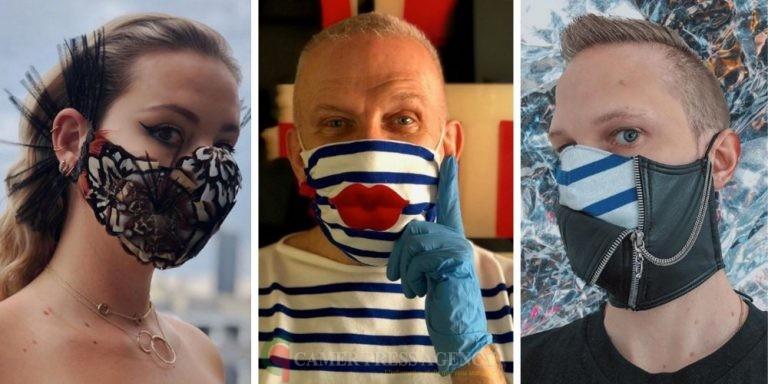 Masque de protection : le nouveau phénomène mode.