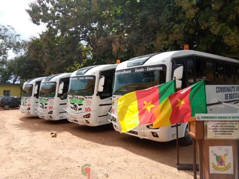CAMEROUN : Transport urbain : Quatre bus pour expérimenter le transport péri urbain.